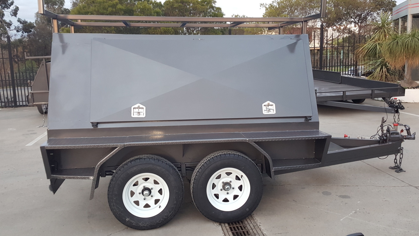 7 x 5 Tandem Tradesman Top Trailer