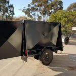 7 x 4 Enclosed Trailer