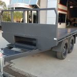 8 X 6 Flat Bed Trailer