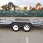 16 X 6.6 Ft Beavertail Car Carrier Trailer