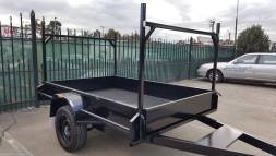 7 x 5 Heavy Duty Trailer with Removable Ladder Racks