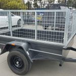 6 x 4 Heavy Duty trailer with cage