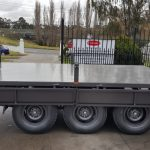 12 x 6 Ft Flat Bed Trailer