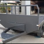 8 x 5 Flat Bed Trailer