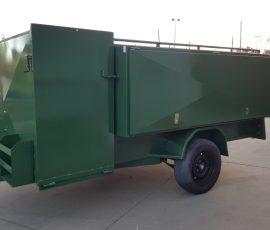 8 x 5 Lawn mowing Trailer (Green)