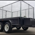 8 x 5 Tandem Trailer With Cage