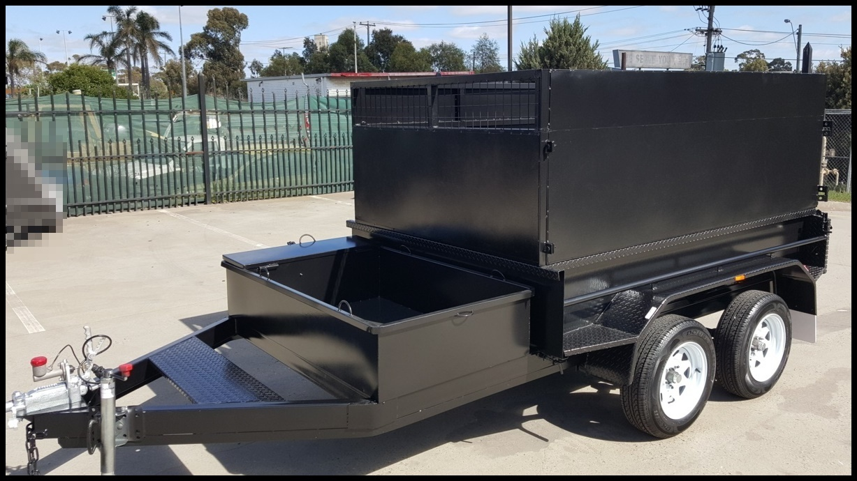 8 x 5 Tandem Tipper Trailer ( High Sides)