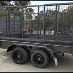10 x 6 Tipper Trailer with cage