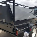 7 x 4 Tradesman Top Trailer ( Black )