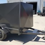 6×4 Enclosed Trailer With Ramp