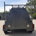 8×5 Tandem Tradesman Top Trailer ( Rear Door )