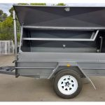 7 x 4 Tradesman Top Trailer (Rear Door)
