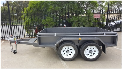 8 x 5 Tandem Box Trailer High Sides