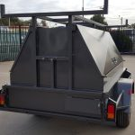 7×5 Tandem Tradesman Top Trailer