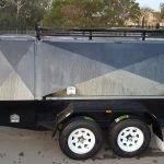 8 X 5 TANDEM TRADESMAN TOP TRAILER (DRAWERS)